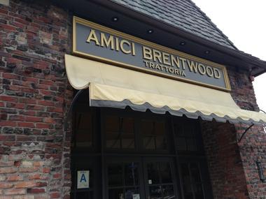 "Image result for Amici's Restaurant, 2538 San Vicente Blvd., Santa Monica"""