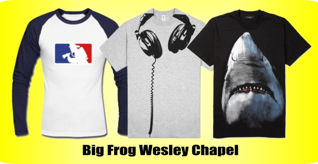 Big Frog Custom T Shirt In Lutz Fl 33559 Citysearch