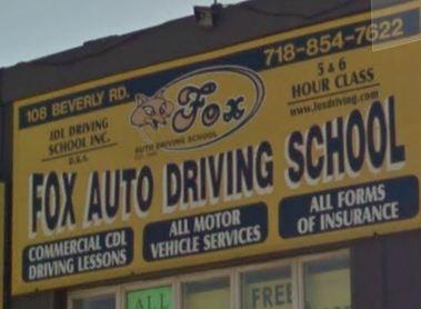 Fox Auto Driving School In Brooklyn Ny 11218 Citysearch