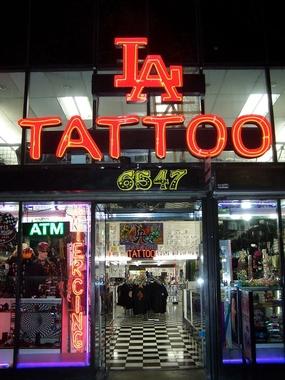 la tattoo in los angeles ca 90028 citysearch