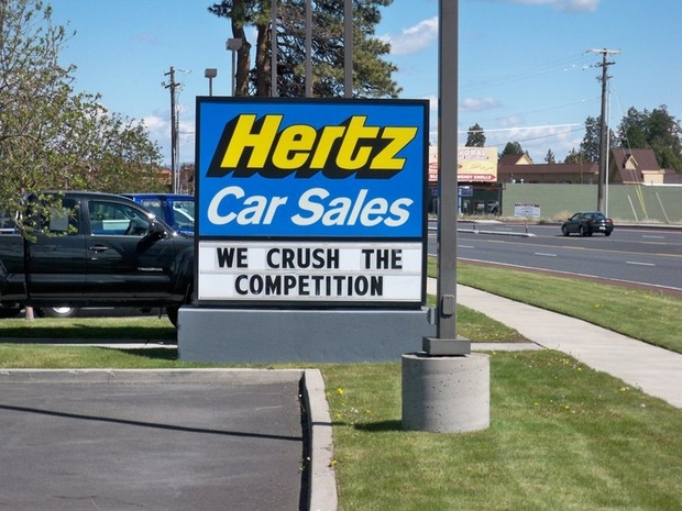 Hertz Car Sales Of Bend In Bend Or 97701 Citysearch