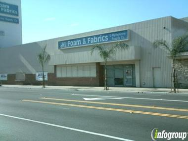 A 1 Foam Fabrics Upholstery Supply Co In Santa Ana Ca 92707