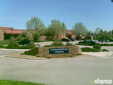 Centennial Peaks Hospital in Louisville, CO 80027   Citysearch