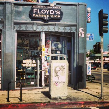 Floyds 99 Barbershop In Los Angeles CA 90046