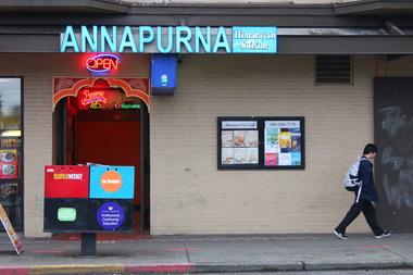 Annapurna Cafe Menu Seattle Wa
