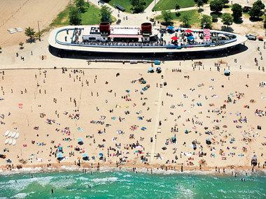 North Avenue Beach In Chicago Il 60610